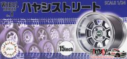 "1:24 15"" Hayashi Street Wheels and Tyres #8"