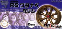 "1:24 15"" RS Watanabe Deep Wheels and Tyres #16"