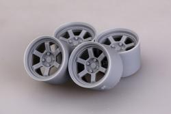 "1:24 16"" Rays Volk Racing TE37V Wheels"