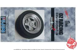 "1:24 17"" OZ Racing Wheels and Tyres"