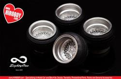 "1:24 17"" SSR Formula Mesh Wheels and Tyres"