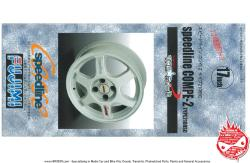 "1:24 17"" Speedline Compe-2 Type  2108 SC Wheels and Tyres"