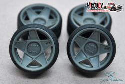 "1:24 17"" Wheels 3SDM 0.05 Stance Tyres"