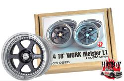 "1:24 18"" Work Meister L1 Resin Wheels"