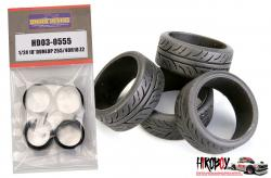 "1:24 18"" Dunlop 255/40R 18 Z2 Tyres"