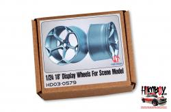 "1:24 18"" Display Wheels For Scene Model"