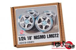"1:24 18"" Nismo LMGT2 Wheels for Nissan GT-R (Metal Rims)"