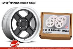 "1:24 18"" Rotiform RB1 Resin Wheels"