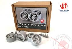 "1:24 18"" Volks Racing RE30 Wheels"