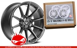 "1:24 18"" Vorsteiner FF-102 Resin Wheels"