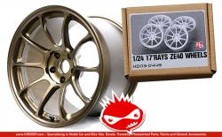 "1:24 17"" Rays ZE40 Resin Wheels"