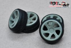 "1:24 18"" Wheels 3SDM 0.06 Stance Tyres"