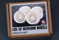 "1:24 18""  Rotiform Forged CCV Wheels (Resin)"