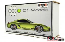 1:24 Porsche Cayman R Resin Transkit for Fujimi