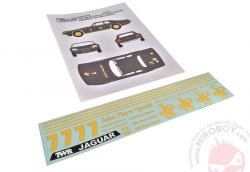 1:24 1984 Macau Guia Race JPS TWR Jaguar XJS Gr.A #7 Winner - Tom Walkinshaw Decals