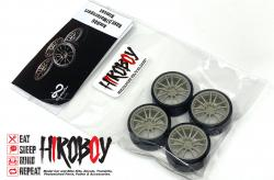 "1:24 19"" Rays 57 Motorsport G07EX Wheels and Tyres"