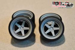"1:24 19"" Wheels VIP Modular FX 550 with Tyres"