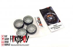 "1:24 19"" Work Genosis CV201 Wheels and Tyres"