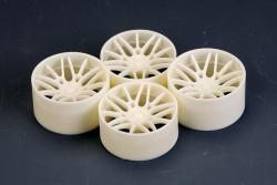 "1:24 20"" Forgiato Maglia-ECL Wheels (resin) (for LB Works Lambo Huracan )"