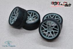 "1:24 20"" Wheels Vossen VSP-315t with Tyres"