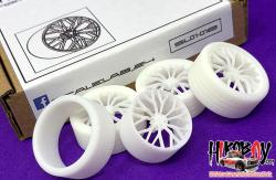 "1:24 23"" Savini SV-F2 Flow Form Wheels and Resin Tyres"