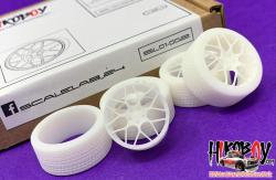 "1:24 21"" FF HRE Wheels and Resin Tyres"