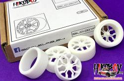 "1:24 21"" Audi R8 Wheels and Resin Tyres"