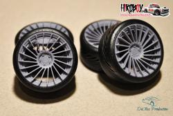 "1:24 21"" Wheels MB design powerzone edition w Tyres"