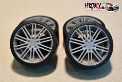 "1:24 21"" Wheels Porsche Panamera 911 Turbo Design for Revell"