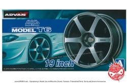 "1:24 AVS Model T6 19"" Wheels and Tyres"