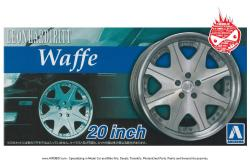 "1:24 Leon Hardiritt - Waffe 20"" Wheels and Tyres"