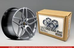 "1:24 21"" Kahn Forged Monza Wheels Resin Wheels"