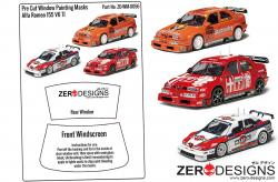1:24 Alfa Romeo 155 V6 TI Pre Cut Window Painting Masks (Tamiya)