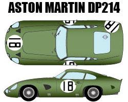 1:24 Aston Martin DP214 '64LM #18 Multi-Media Model Kit