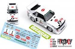 "1:24 Audi Quattro Sport S1 - Winning car at the ""Toyota Olympus Rally 1985 Decals"