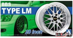"1:24 BBS LM 20"" Wheels and Tyres"