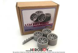 1:24 BBS Wheels for Fujimi BMW Z4 GT3
