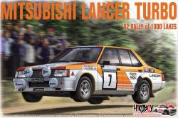 1:24 Mitsubishi Lancer Turbo - 1000 Lakes Rally 1982