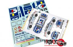 1:24 BMW 320i E46 Macau Guai 2002 Park Shop Decals - Team Carly Motors (NuNu)