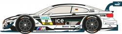 "1:24 BMW M3 DTM #21  ""ICE WATCH"" 2013 (M.Witmann)"