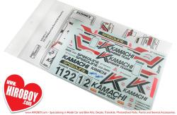 "1:24 BMW M3 E30 1989 Macau Guia Race ""Kamachi"" Decals"