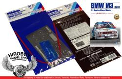1:24 Detail Up Parts for BMW M3 (E30) '91 Deutschland Year Champion