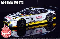 1:24 BMW M6 GT3 Model Kit by Platz
