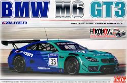 1:24 BMW M6 GT3 Team Falken Model Kit