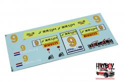 1:24 BMW M6 GT Macau 16 Option Decals  (Nunu)