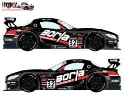 1:24 BMW Z4 GT3 #32 Pirelli World Challenge 2015 Decals