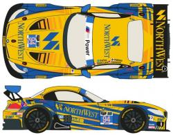 1:24 BMW Z4 GT3 #94 Rolex 24H of Daytona 2014 (Turner Motorsport) (Fujimi)