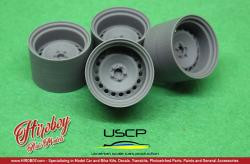 "1:24 Banded Steels 17"" Wheels"