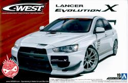 1:24 C-West Mitsubishi Lancer Evolution X
