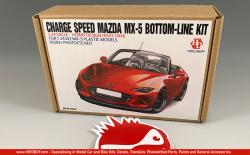 1:24 Charge Speed Mazda MX-5 Bottom Line Transkit (Resin+PE+Metal parts)